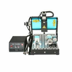 V0 110v 300w 4 Axis Cnc 3040 Router Engraving Milling Machine Parallel Port