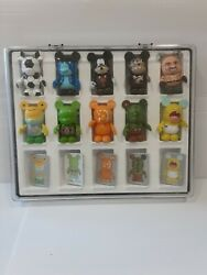 Disney Vinylmation Bundle Lot 10 Figures And 5 Sealed Cards In A Case