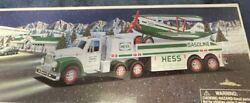 Hess Toy Truck And Airplane 2002 New Never Opened
