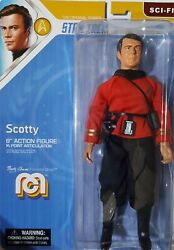 Scotty Star Trek Action Figure 8 Mego Mint And Shipped In Box