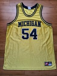 Vintage Mens Nike Michigan Wolverines Robert Tractor Traylor Authentic Jersey