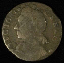 1788 Connecticut Colonial Copper Cent Bust Left - Free Shipping Usa