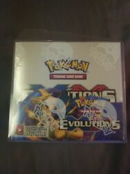 Pokemon Xy Evolutions Booster Box Factory Sealed With Case.