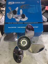 Turning Point Express Mach4 Right Hand Stainless Steel Propeller