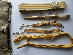 Romania Rsr Communist Army Military Parade Dagger Knife Officer Numbered Vintage