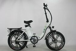 Green Bike Usa Low Step Fat Tire Mag Wheel Electric Bicycle 750w Motor+48v/18.2a
