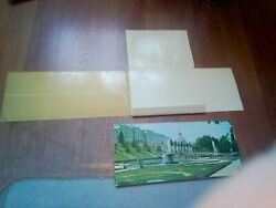 Petrodvorets Set 0f 16 Large Cards Reproductions Card Size 35x15 Sm Or 14x6 Inch