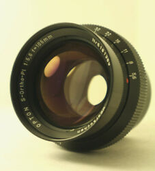 Zeiss Oberkochen Opton S-ortho-pl 5.6/105mm Rarest Vintage Reproduction Lens