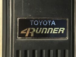 Toyota 4runner 1984 1985 1986 1987 1988 1989 Pillar Emblem Badge Overlay 2pc