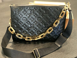 Louis Vuitton handbags new with tags authentic Coussin MM Item# M57783 $5650.00