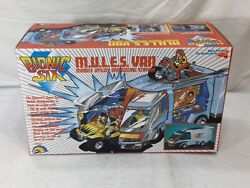 1986 Vintage Bionic Six 6 Mules Van Complete Boxed Sealed Parts Inserts Stickers