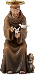 Seated Saint Francis Of Assisi Hummel Statue