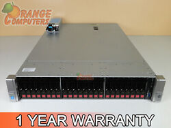 Hp Dl380 G9 16-core Server 2x E5-2640 V3 2.6ghz 64gb-8 24x 300gb 15k 12g P440ar