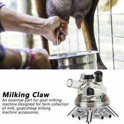1 Pc 150ml Goat Sheep Milking Claw Milk Collector Cup Goat Milking Machine Part
