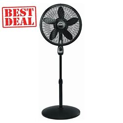 Lasko 18 3-speed Oscillating Cyclone Pedestal Fan With Remote Control And Timer