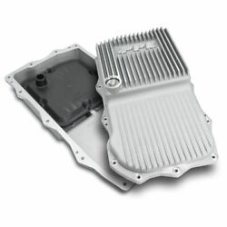 Ppe Raw Aluminum Deep Transmission Pan For 2018+ Jeep Wrangler/gladiator 850re