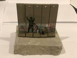 Banksy Wall Section - Walled Off Hotel - Soldier