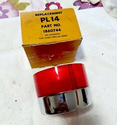 1958 Plymouth Tail Lights Lens New Pl14 18