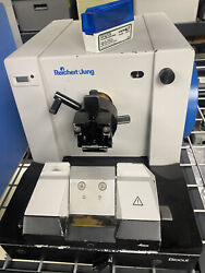Leica Reichert Jung Biocut 2030 Manual Rotary Microtome With Blades