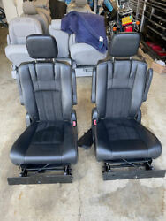 2011 -2020 Town And039n Country Grand Caravan Complete Stow Nand039 Go Seat Black Leather