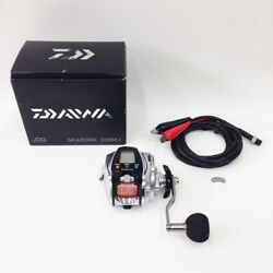 Secondhand Daiwa Seaborg 300mj Electric Reels 801397 Box With Code