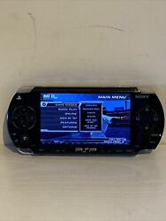 Sony Playstation Psp 1001b2 Console System Only Powers On Works Missing Joystick