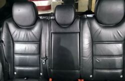 2008 08 09 10 Porsche Cayenne Turbo Front And Rear Leather Black Seats Gts