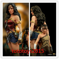 Iron Studios 1/10 Dccw8433120-10 Ww84 Wonder Woman And Young Diana Deluxe Statue