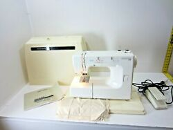Kenmore 14 385.12714090 Embroidery Sewing Machine W/case And Manual