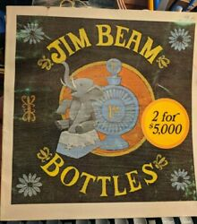 Jim Beam Bottles, 1971/72 Identification And Price Guide