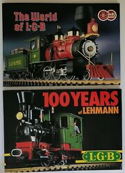 Lot Of 3 Lgb Lehman-gold-bahn Catalogues Trains And Accessories 1987 1988 Vgc