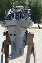Used 1988 115 Hp Yamaha 2-stroke Outboard Boat Motor 140 Psi On All