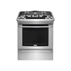Electrolux Ew30ds80rs 30 Stainless Slide-in Dual Fuel Range Nib 60693