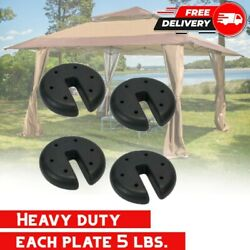 Heavy Duty Weights Outdoor Canopy Tent Pop Up Gazebo Leg Anchors Event Patio