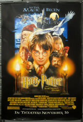 Harry Potter And The Sorcerer's Stone 2001 Orig 48x68 Ds Bus Shelter Movie Poster