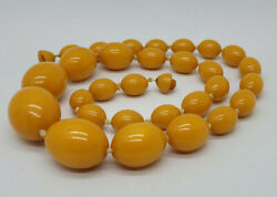Beautiful Quality Natural Butterscotch Amber Baltic Necklace 106.2 G.