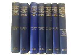 1897-1803 Lot 7 Antique Book The Highland And Agricultural Society Of Scotland