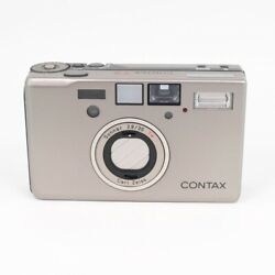 Contax T3 35mm F2.8 Point And Shoot Film Camera Body Used