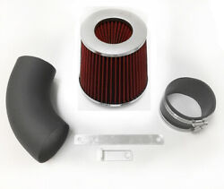 Coated Black Red For 1995-2005 Chevy Monte Carlo 3.8l V6 Air Intake System Kit