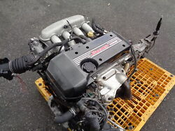 Toyota Altezza 2.0l 4 Cylinder Engine 5-speed Trans Loom And Ecu Jdm 3s-ge Beams