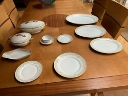 Limoges Dinnerware Set Circa 1915 - Serving For 8 With Extras