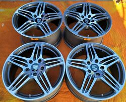 19 Porsche 911 996 997 998 Oem Factory Made In Germany Turbo Wheels Rims