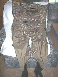 Lacrosse Waders 120g Insulated Fishing Waders Sz 9 Mens Chest Waders River Shoes