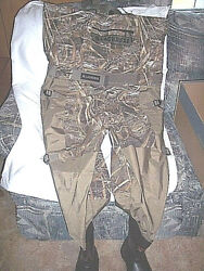 Lacrosse Waders 120g Insulated Fishing Waders Sz 8 Mens Chest Waders River Shoes