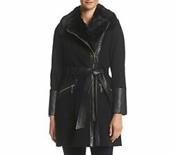 Via Spiga Womenand039s Kate Mid-length Belted Wool Assy - Choose Sz/color