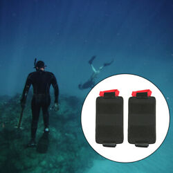 1 Pair Travel Diving Trim Counter Weight Pocket Pouch For Scuba Diving