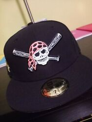 Hatclub Pittsburgh Pirates 7 3/4 Pinky Uv 59fifty New Era Fitted Cap 2006 Patch