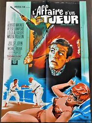 How I Spent My Summer Vacation French Movie Poster Original 2331 1967 Wagner