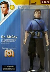 Mego Dr. Mccoy Star Trek 8 Action Figure Mint And Shipped In Box