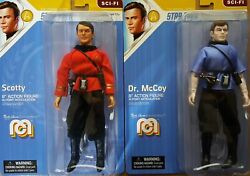 Mego Bundle Star Trek Scotty And Mccoy Mint And Shipped In Box